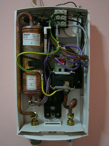 File:Water heater bathroom.JPG