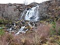 Waterfall in Raasay Forest - geograph.org.uk - 136890.jpg