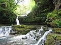 Waterfall on the Afon Mellte - geograph.org.uk - 47320.jpg