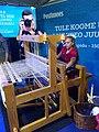 Weaving demonstration at the 150th Estonian Song Festival in 2019.jpg