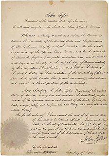 Webster–Ashburton Treaty