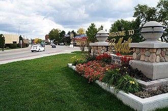 Belleville, Michigan - Image: Welcome to Belleville Michigan