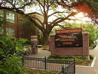 West University Place, Texas - West University Elementary School