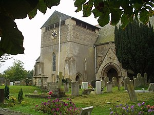 West Hanney - Image: West Hanney Church geograph.org.uk 745381