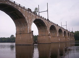 West Trenton Railroad Bridge - Image: West Trenton Railroad Bridge