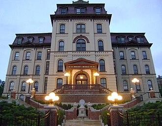 Rensselaer Polytechnic Institute - West Hall