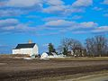 White Barn with a Silo - panoramio (2).jpg
