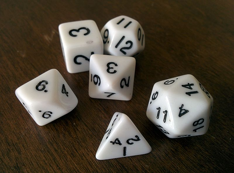 Image result for RPG dice