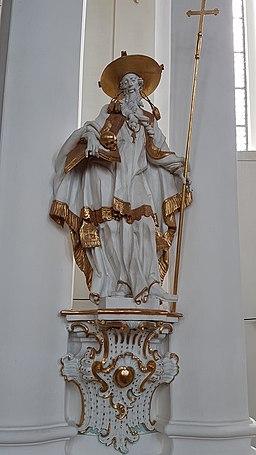 Hieronymus (Anton Sturm), Wieskirche 1.15