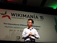 Wikimanía 2015 - Day 4 - Luis von Ahn conference - LMM (17).jpg