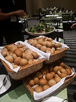 Wikimania 2015-Thursday-Food for hungry Hackathon people (17).jpg