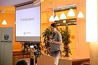 Wikimedia Hackathon Vienna 2017-05-19 opening 13.jpg