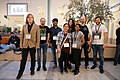 Wikimedia Hackathon Vienna 2017-05-20 Android Developers Team 01.jpg