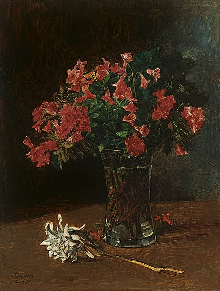 File:Wilhelm Trübner - Blumenvase.jpg