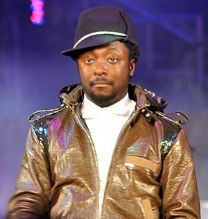 English: will.i.am at YouTube Live 2008.