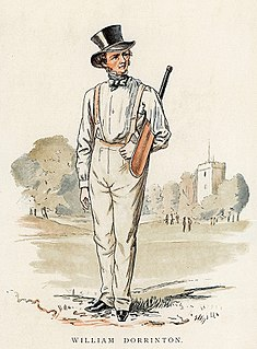 William Dorrinton cricketer