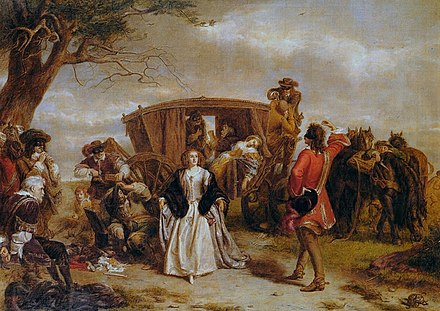 January 21: Highwayman Claude Duval is executed. William Powell Frith Claude Duval.jpg