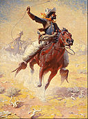 William Robinson Leigh - The Roping - Google Art Project.jpg
