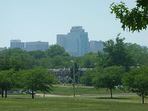 English: Wilmington, Delaware as seen from E 2...