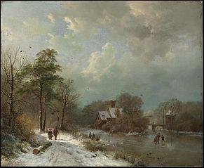Winter Landscape, Holland