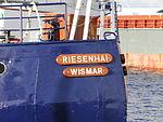 Wismar Seehafen Schiff Riesenhai 2012-12-05 012.JPG