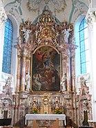 Wolfegg Pfarrkirche Hochaltar
