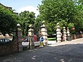 Wolverhampton St Johns Square East Gate.JPG