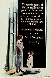 <i>Woman to Woman</i> (1923 film) 1923 film