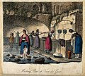 Women washing clothes at the wash-house at Torre del Greco. Wellcome V0020087.jpg