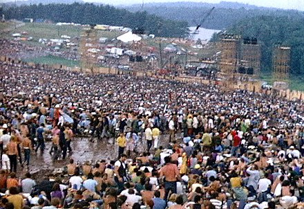 Woodstock festival site with the stage Woodstock redmond stage.JPG
