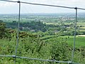 Woolland, view through a wire square - geograph.org.uk - 1390127.jpg