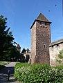 Worms - Stadtmauer mit Türmen.JPG