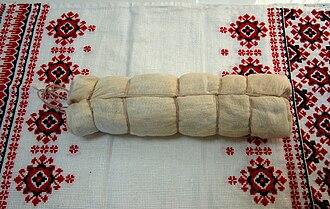 Belarusian cuisine - Wrapped palyandvitsa