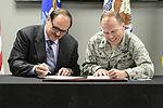 Wright-Patterson AFB Hospital and VA sign Agreement 150501-F-AV193-071.jpg