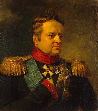 Duke Alexander of Württemberg (1771–1833) - portrait by George Dawe, 1823