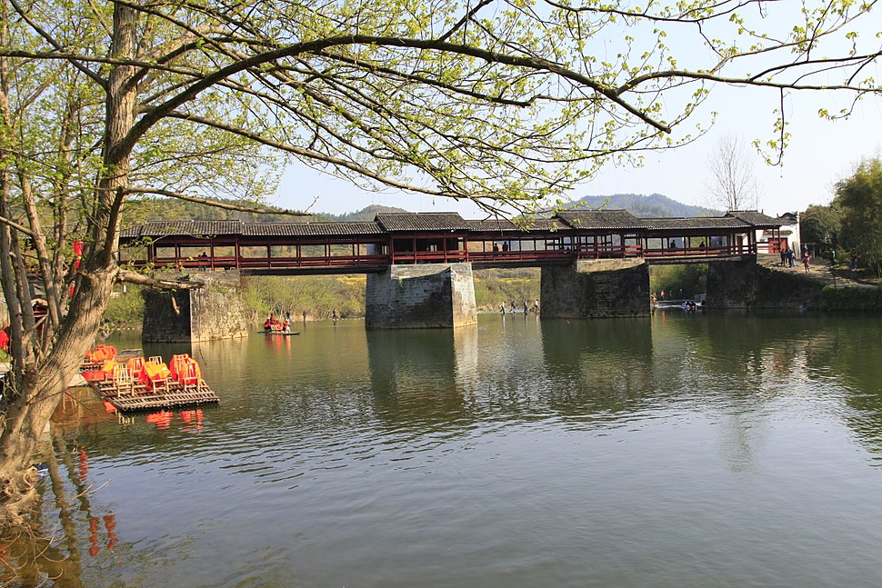 Wuyuan Qinghua Caihong Qiao 20120401-30