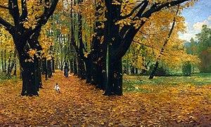 Michał Gorstkin-Wywiórski - Image: Wywiórski Park in autumn