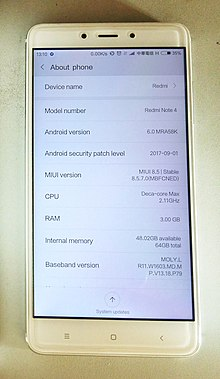 Xiaomi Redmi Note 4 Wikipedia