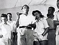 Yohanan Simon at the painters association seminar, givat haviva 1949.jpg