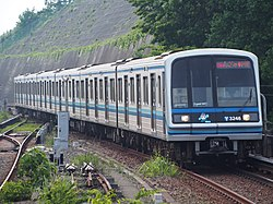 Yokohama Subway 3000A series 3246F 20190526.jpg