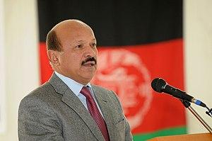 Muhammad Yunus Nawandish - Image: Yunus Nawandish, mayor of Kabul