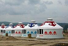 Les tantes mongoles
