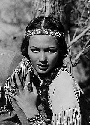 Yvonne De Carlo - De Carlo as Wah-Tah in Deerslayer (1943)