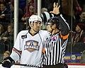 Zack Stortini stares down referee.jpg