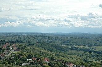 Transdanubia - Image: Zalai dombság