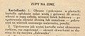 """Zalewajka - przepis, książka """"Przepisy dawne i nowe"""", 1933 (cropped).jpg"""