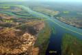 Zambezi River at junction of Namibia, Zambia, Zimbabwe & Botswana ar.png