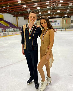 Christopher Martin Davis Bulgarian ice dancer