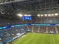 Zenit Saint Petersburg fans during a match vs Krasnodar at Gazprom Arena.jpg