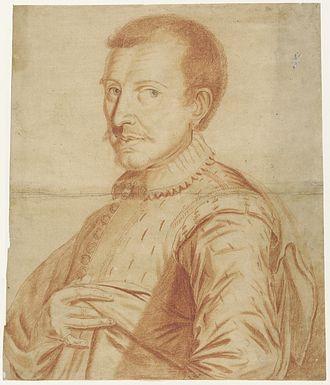 Tobias Stimmer - Portrait of Stimmer, Zentralbibliothek Zürich collection.